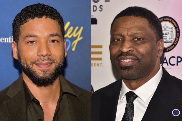 Jussie Smollett Derrick Johnson
