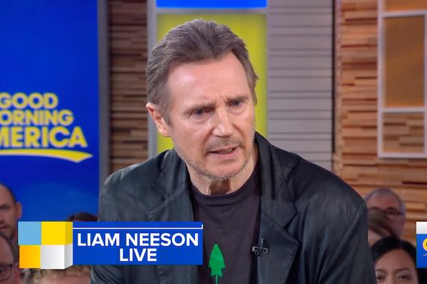 Liam Neeson GMA