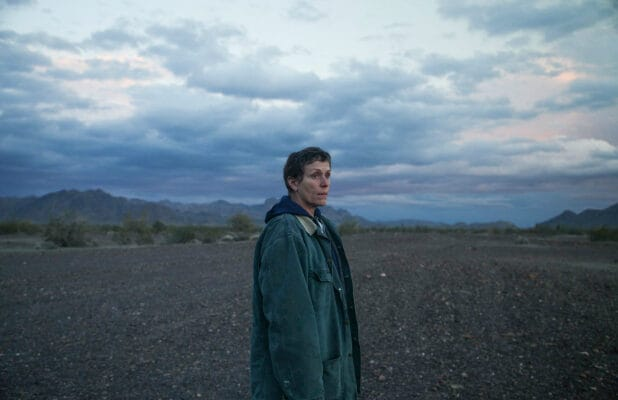 Frances McDormand in fox Searchlight's film NOMADLAND