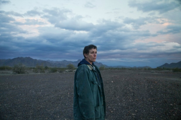 Frances McDormand in fox Searchlight's film NOMADLAND