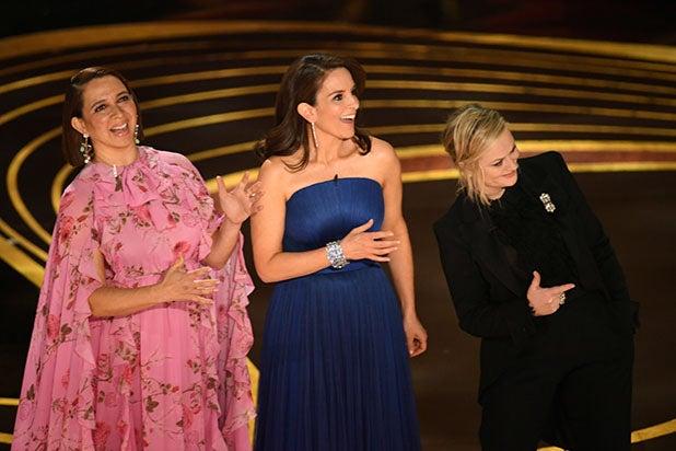Maya Rudolph Tina Fey Amy Poehler Oscars