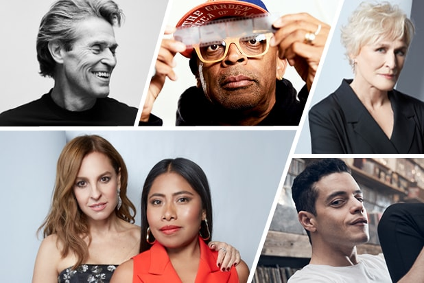 Oscars contenders gallery split
