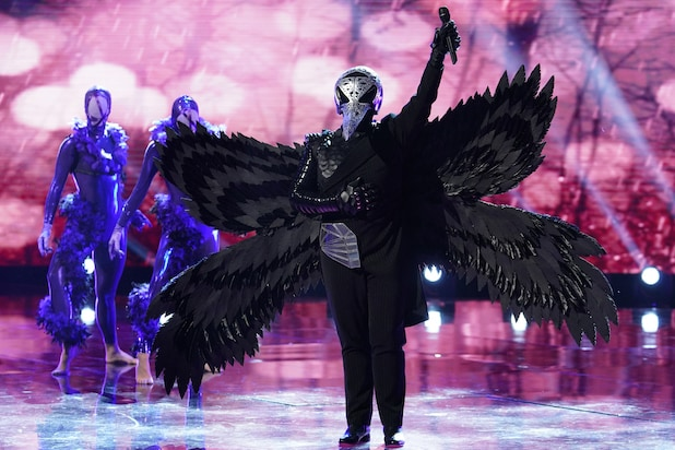 Fox's 'Masked Singer' Reveals Sixth Celebrity Masked Singer: And the Raven Is... (Video)