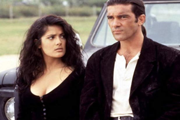 """Desperado"" with Selma Hayek and Antonio Banderas"