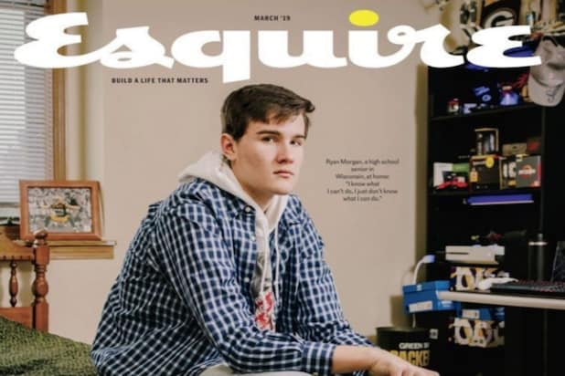 Esquire Magazine Was Called Out On Twitter Tuesday After Revealing Its March Cover Story Which Featured A Profile Of White Middle Class Male