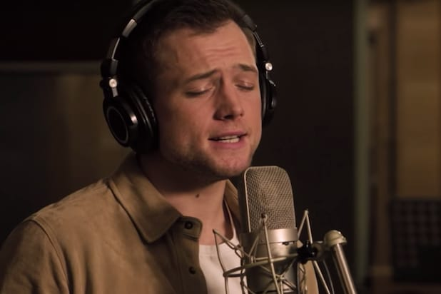 Taron Egerton Sings Elton John's 'Tiny Dancer' in New