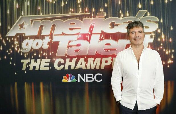 "Simon Cowell - ""America's Got Talent: The Champions"""