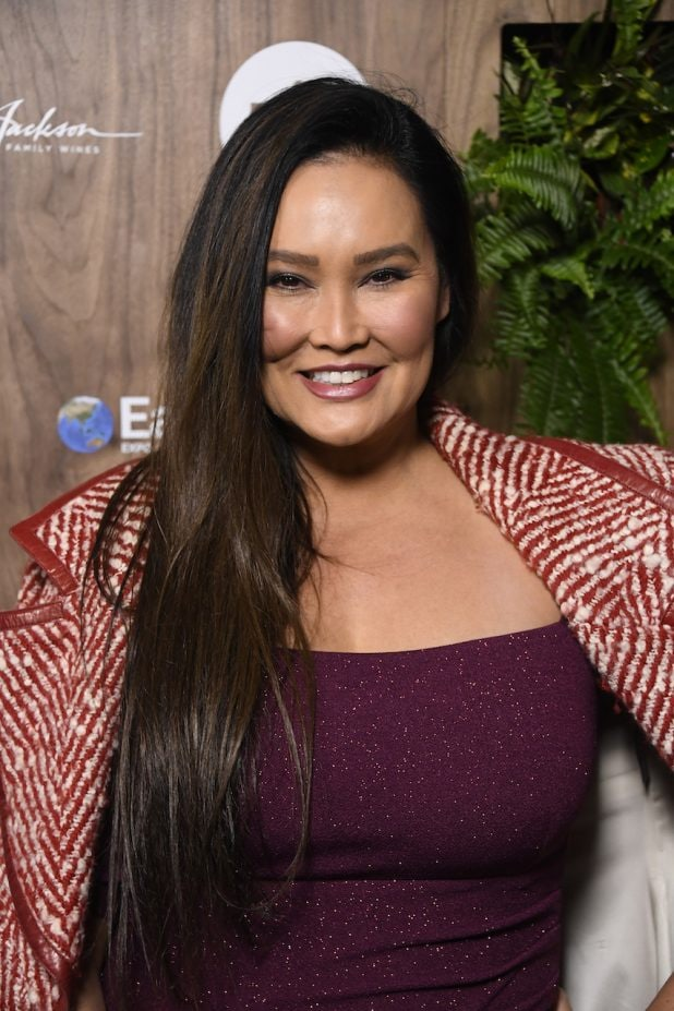 LOS ANGELES, CALIFORNIA - FEBRUARY 20: Tia Carrere attends the Global Green 2019 Pre-Oscar Gala at Four Seasons Hotel Los Angeles at Beverly Hills on February 20, 2019 in Los Angeles, California. (Photo by Frazer Harrison/Getty Images)