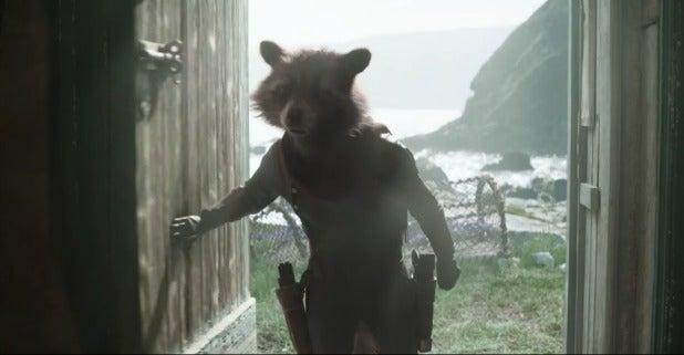 avengers endgame rocket raccoon cabin