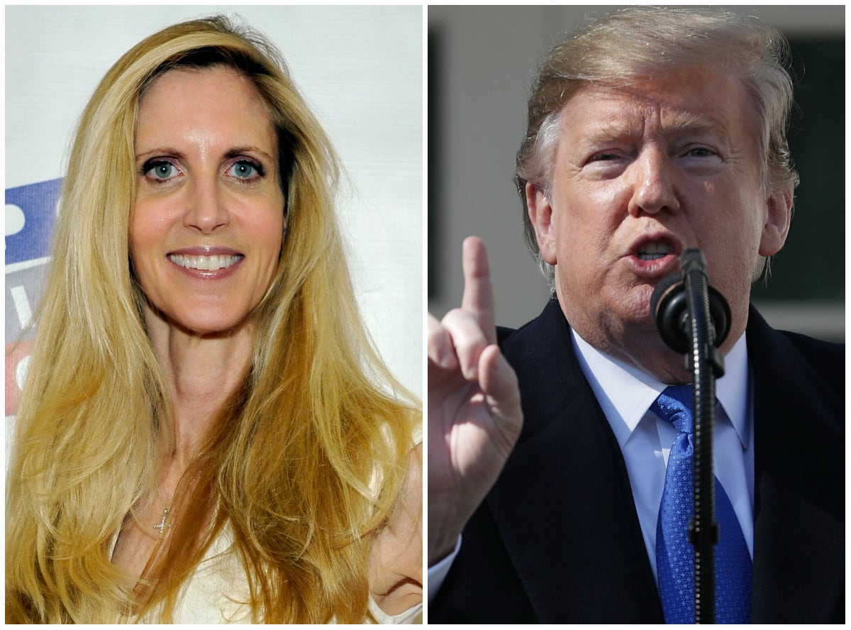 Ann Coulter Hits Back at Trump: 'The Only National Emergency Is That Our President Is an Idiot'