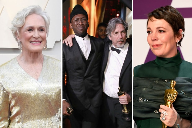 oscar snubs surprises glenn close olivia colman green book