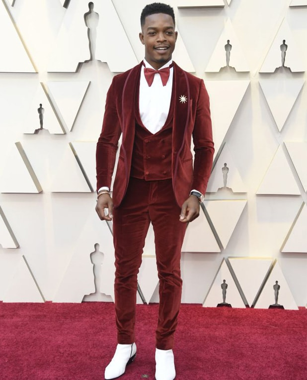 stephan james oscar red carpet