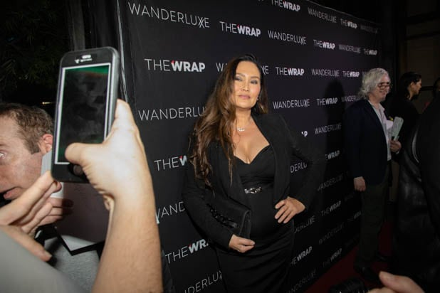 Tia Carrere at the Pre-Oscar party celebration hosted by The Wrap at Norah.