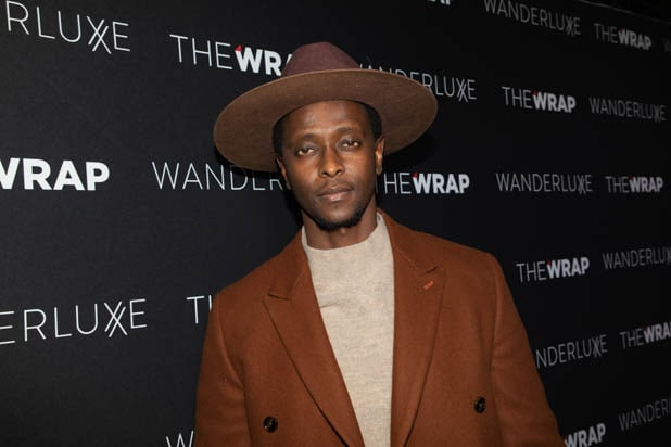 Edi Gathegi at the Pre-Oscar party celebration hosted by The Wrap at Norah.