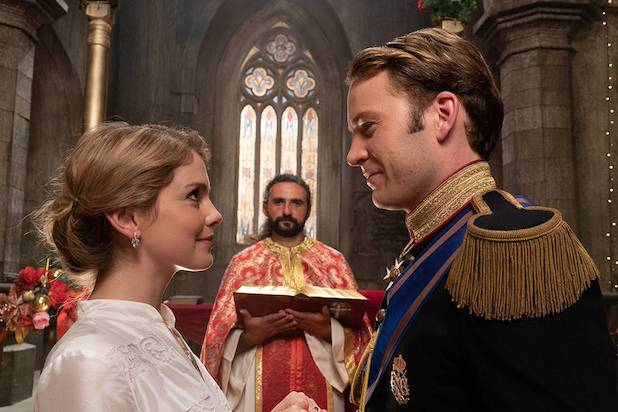 A Christmas Prince 3' Set at Netflix – With Baby on Board