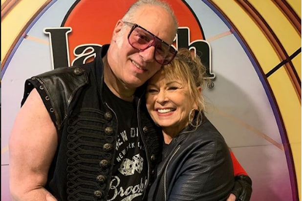 Andrew Dice Clay Roseanne Barr