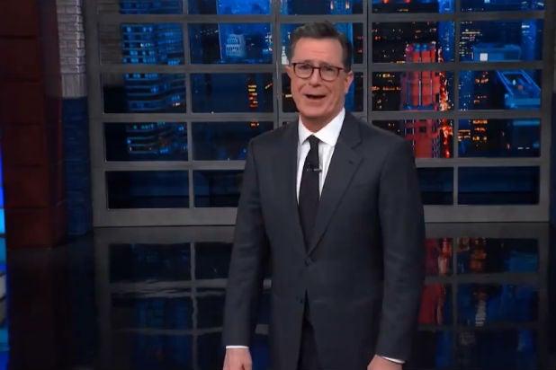 Colbert Mocks Trump