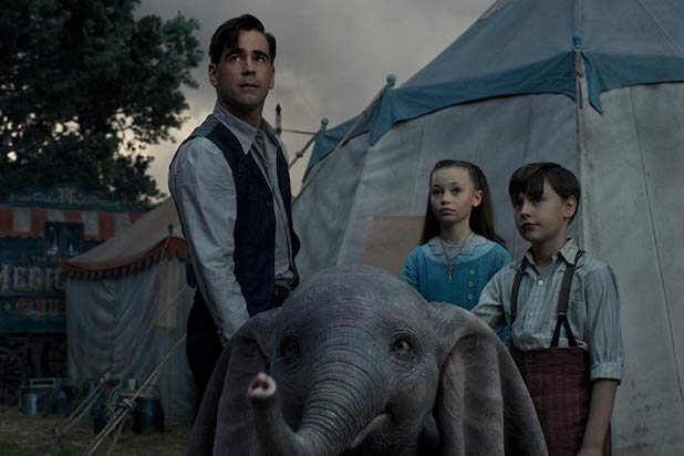 'Dumbo' Child Stars Call Out Colin Farrell for Filling Up 'Swear Jar' on Set (Video)