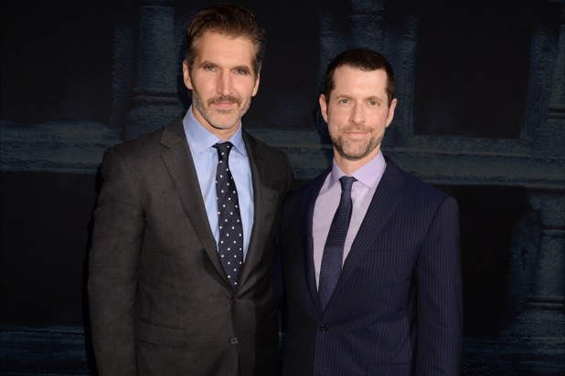 D.B. Weiss and David Benioff