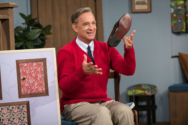 Watch Tom Hanks as Mister Rogers in 'A Beautiful Day in the Neighborhood' Trailer (Video)