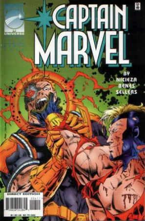 Genis Vell Captain Marvel Vol 3 Issue 1