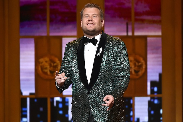 James Corden Set as 2019 Tony Awards' Host