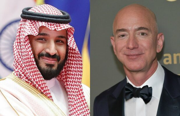 Jeff Bezos MbS Mohammed bin Salman bin Abdulaziz Al Saud