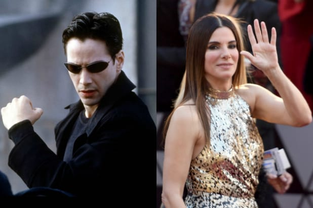 The Matrix' Wanted Sandra Bullock as Neo Before Keanu Reeves Took
