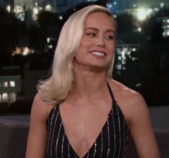 Brie Larson Captain Marvel Kimmel