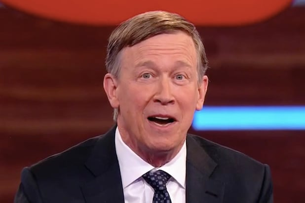 Democratic Presidential Candidate John Hickenlooper Recalls Taking His Mom to See 'Deep Throat' (Video)