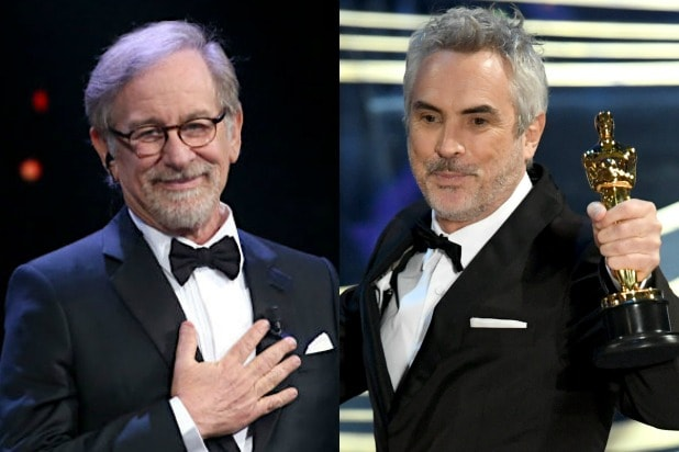 Steven Spielberg Alfonso Cuarón