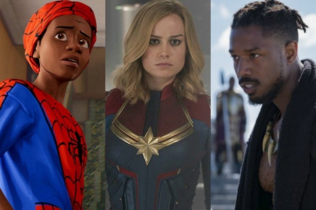 all 55 marvel movies ranked captain marvel black panther spider-man into the spider-verse