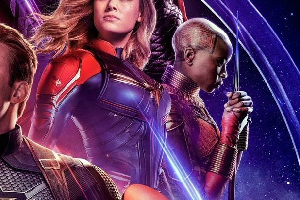 avengers endgame poster okoye is the new black panther danai gurira