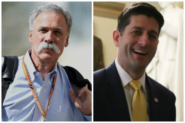 Chase Carey and Paul Ryan Join 'New' Fox Board of Directors