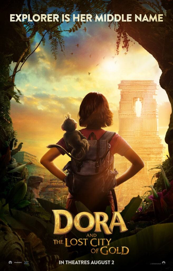Dora the Explorer Dora and the Lost City of Gold Poster