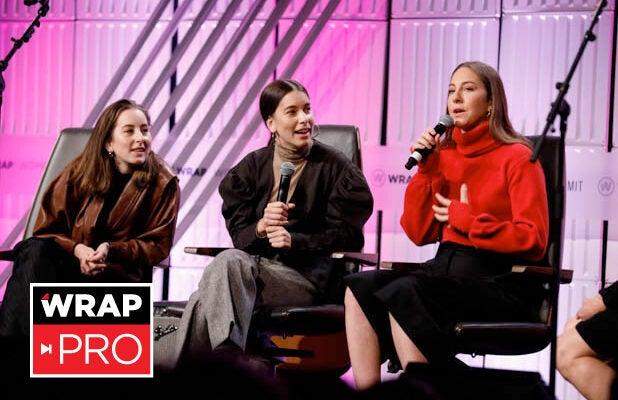 Alana, Daniell and Este Haim Power Women's Summit 2018