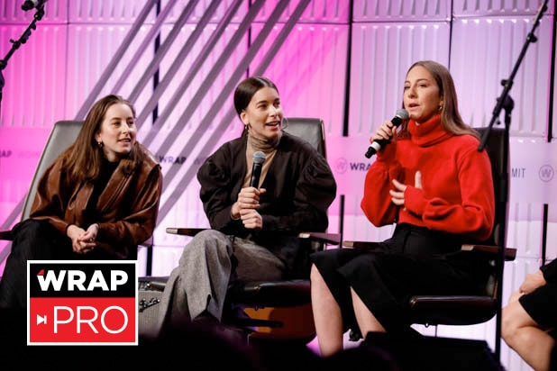 Alana, Daniell and Este Haim Power Women's Summit 2018