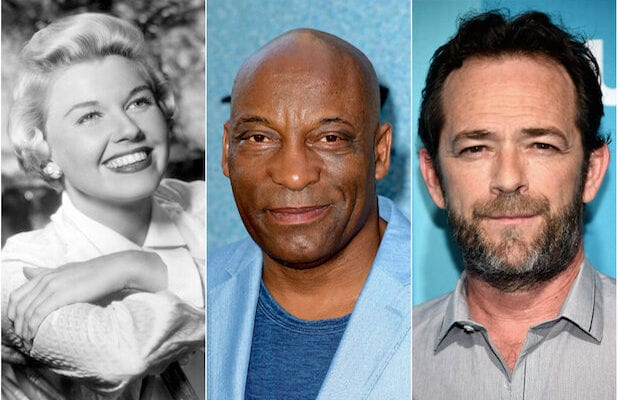 Doris Day, John Singleton and Luke Perry