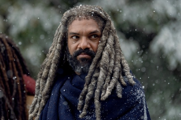 the walking dead twd khary payton ezekiel kingdom voice on the radio commonwealth georgie