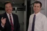 Pete Buttigieg Jimmy Fallon