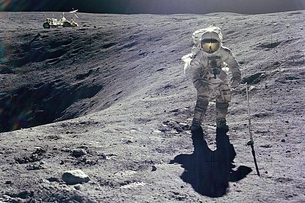 Charlie Duke on the lunar surface