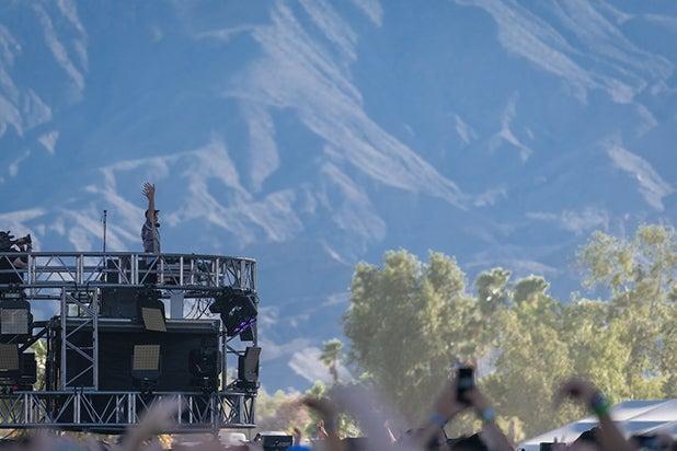 Fisher Sahara Tent Coachella 2019