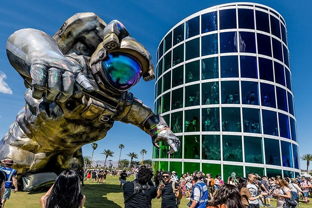 Space Man Coachella 2019