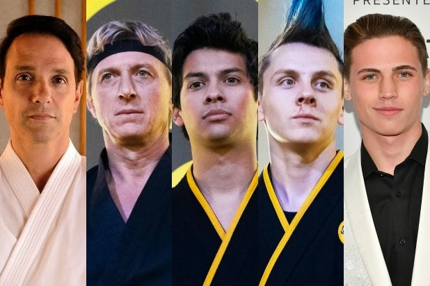 cobra kai Ralph Macchio William Zabka Jacob Bertrand Tanner Buchanan Xolo Maridue?a