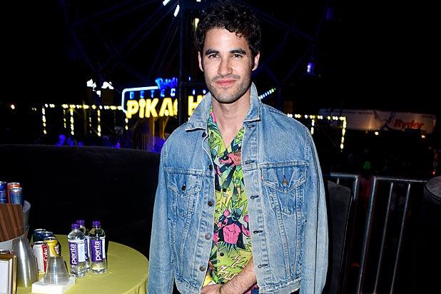 Darren Criss Neon Carnival Coachella