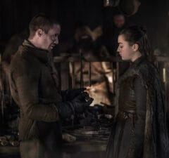 Game of thrones arya asks gendry to make a weapon