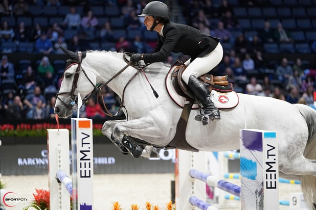 Georgina Bloomberg, Jennifer Gates Face Off in the Longines Masters of New York Competition