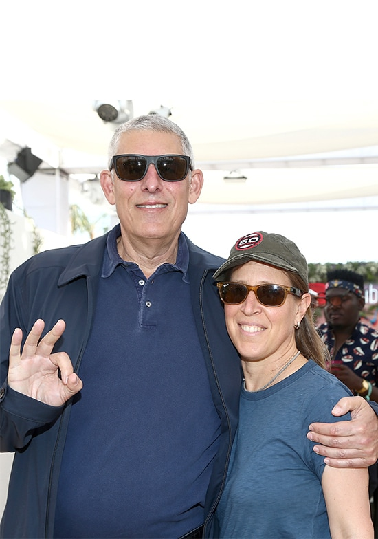 Global Head of Music at YouTube Lyor Cohen and CEO of YouTube Susan Wojcick