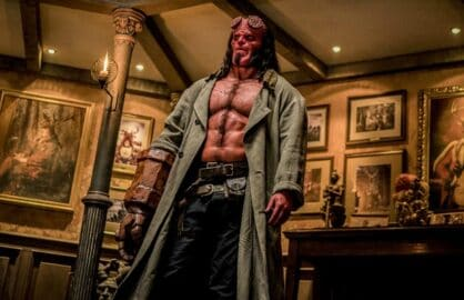 Hellboy' Reboot's Fiery Shoot: Fights Over David Harbour