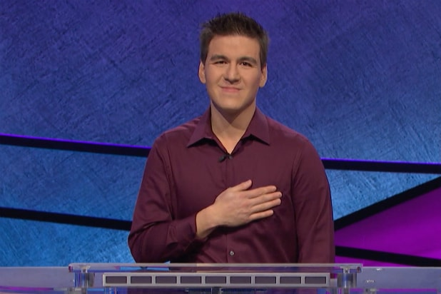 James Holzhauer on 'Jeopardy'